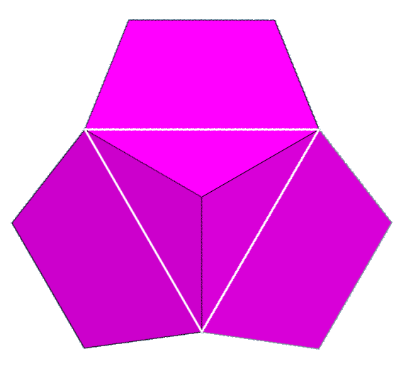 Dodecahedron vertfig