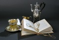 """Dokumentation, utställningen """"Silver och smycken till vardag och fest"""" år 2006 - Hallwylska museet - 85818.tif"""