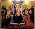 Domenico di michelino, madonna col bambino e santi.JPG