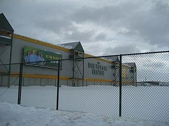 Don Hutson Center - Don Hutson Center in winter