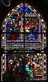 Don leonardo di simone su dis. di niccolò gerini, vetrate, 1386-90, 04 (natività del 1850 ca.).JPG