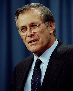 25th Golden Raspberry Awards - Donald Rumsfeld