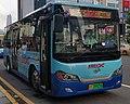 Dongguan Bus Route 876 KMT6861GBEV2 Front.jpg