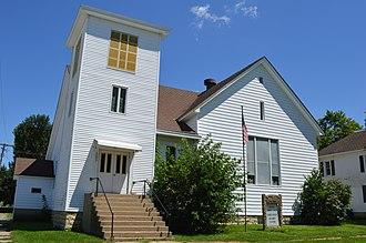 Donovan, Illinois - Donovan Community Church on Raub Avenue