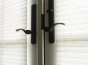 Handle - Many doors use twist handles.