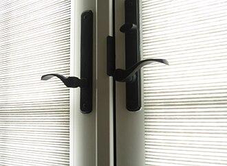 Handle - Many doors use twist handles.