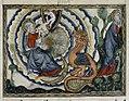 Douce Apocalypse - Bodleian Ms180 - p.043 Woman and the dragon.jpg