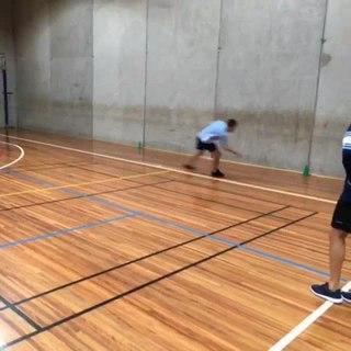 Downball Australian schoolyard ball game