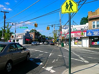 Great Kills, Staten Island - Nelson Avenue and Amboy Road in Great Kills, August 2006