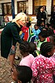 Dr. Jill Biden Shakes Hands With South African Children (4690981315).jpg
