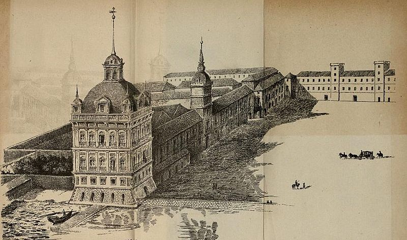 File:Drawing of the Palace of Ribeira by an unknown artist.jpg