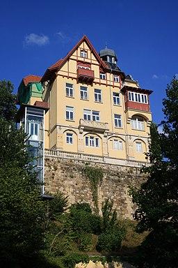 An der Berglehne in Dresden