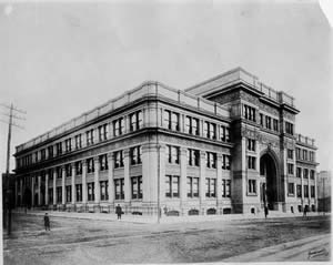 Drexel University - The Main Building, dedicated in 1891.