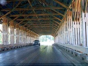 Smolen–Gulf Bridge - Interior view