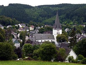 Drolshagen - Image: Drolshagen town