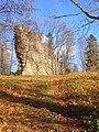 Durbe castle ruins (fragment) - panoramio.jpg