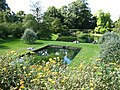 Dyrham Park garden ponds, from east.jpg