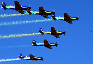 Smoke Squadron - Image: EDA7Setembro