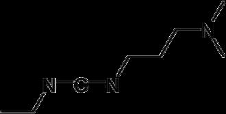 1-Ethyl-3-(3-dimethylaminopropyl)carbodiimide - Image: EDC Structure