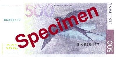 EEK-500krooni-rear