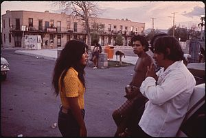 El Segundo Barrio - Photo by Danny Lyon for the National Archives, 1972.