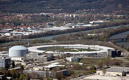 European Synchrotron Radiation Facility in Grenoble. ESRF img 0852.jpg
