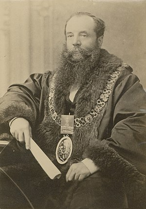 Edwin Thomas Smith - 1887 - Mayor