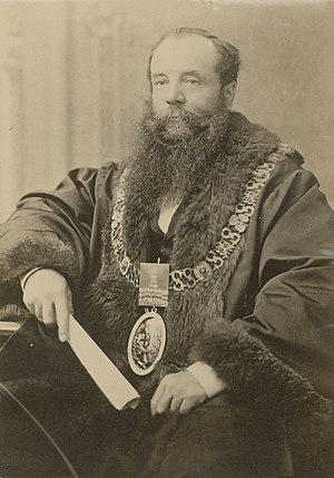 Edwin Thomas Smith - 1887 - Mayor