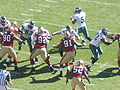 Eagles on offense at Philadelphia at SF 10-12-08 1.JPG