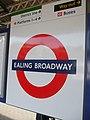 Ealing Broadway stn Central roundel.JPG