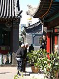 Early morning at a Mosque, Hohhot.jpg