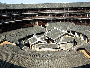 Tulou - Interior of a tulou
