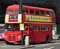 East London Routemaster bus RM1933 (ALD 933B) heritage route 15 Byward Street 13 April 2007 cropped.jpg