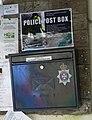 Ebbesbourne Wake, Police postbox - geograph.org.uk - 1030662.jpg