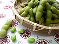 Edamame on a bamboo bowl by yomi955.jpg