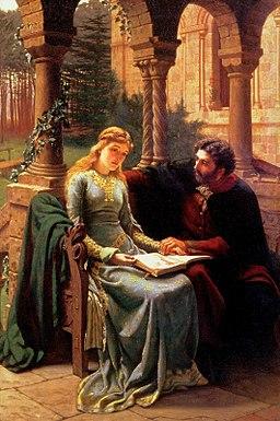 Абеляр и его ученица Элоиза (Лейтон)