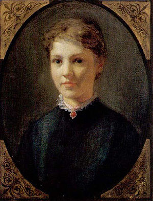 Eduard Bitterlich - Portrait of a lady