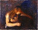 Edvard Munch - Vampire (1893), Gothenburg Museum of Art.jpg