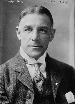 Edward bok circa 1918