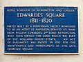 Edwardes Square plaque.jpg