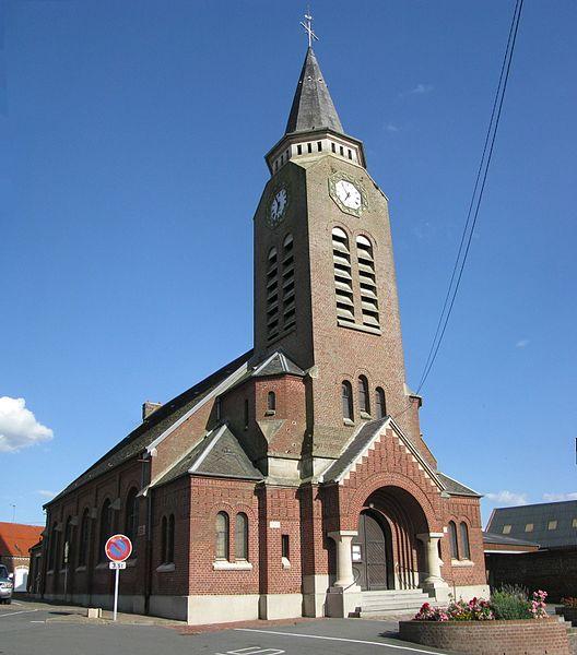 Eglise de Maretz