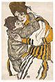Egon Schiele - Schieles Frau mit ihrem Neffen.jpg