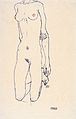 Egon Schiele - Torso eines knienden Mädchens - 1913.jpeg