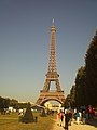 Eiffel Tower from Champ de Mars 2.jpg