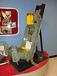 Ejector seat at the Wings Over the Rockies Air and Space Museum (4282672479).jpg