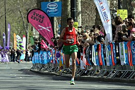 El Amin Chentouf during 2013 London Marathon (2).JPG
