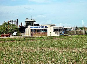 Filadelfia de Guanacaste - Main entrance to the mill