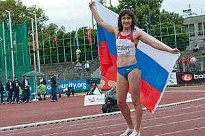 Elena Arzhakova - Arzhakova in 2011