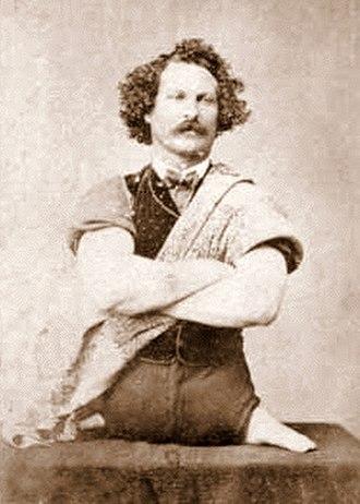 Eli Bowen - Bowen in 1867, age 23