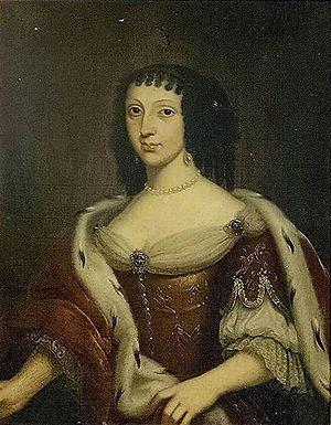 Victor Amadeus, Prince of Anhalt-Bernburg - His wife Elizabeth of Palatinate-Zweibrücken